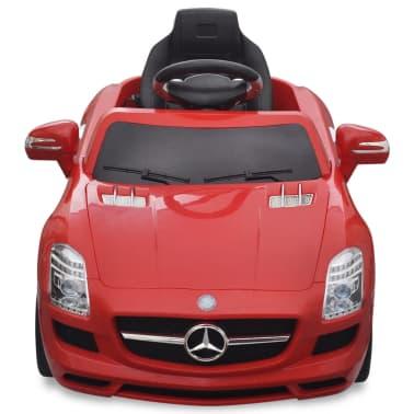 Elekriline lasteauto Mercedes Benz SLS AMG puldiga, punane[2/7]