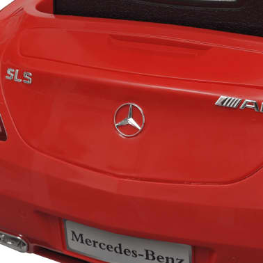 Elekriline lasteauto Mercedes Benz SLS AMG puldiga, punane[7/7]