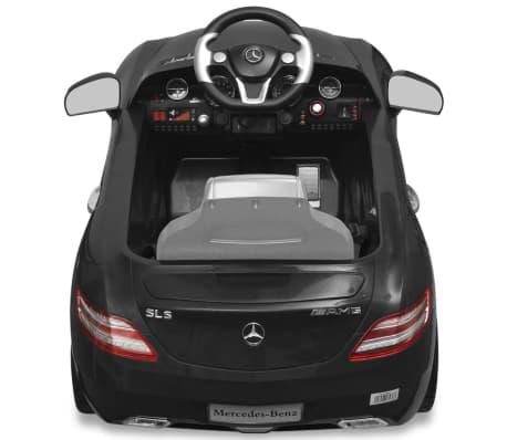 vidaXL Elektrische auto Mercedes Benz SLS AMG zwart 6 V met afstandsbediening[4/7]
