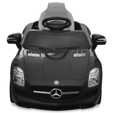 vidaXL Elektrische auto Mercedes Benz SLS AMG zwart 6 V met afstandsbediening[2/7]