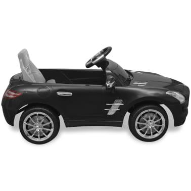 vidaXL Elektrische auto Mercedes Benz SLS AMG zwart 6 V met afstandsbediening[3/7]
