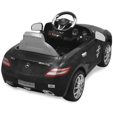 vidaXL Elektrische auto Mercedes Benz SLS AMG zwart 6 V met afstandsbediening[5/7]