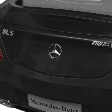 vidaXL Elektrische auto Mercedes Benz SLS AMG zwart 6 V met afstandsbediening[7/7]