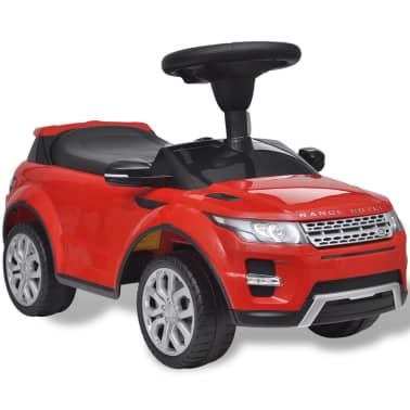 Mașinuță pentru copii muzicală, Land Rover 348, roșu[1/6]