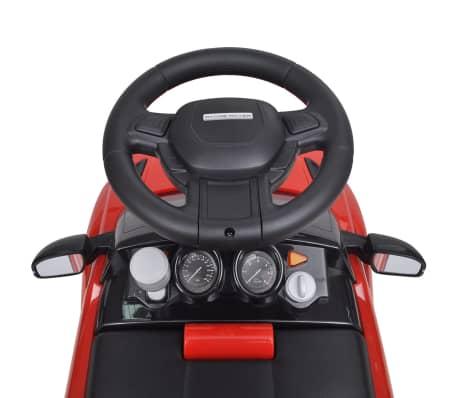Mașinuță pentru copii muzicală, Land Rover 348, roșu[3/6]