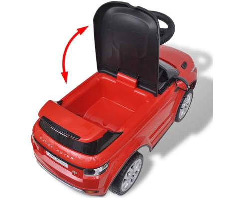 Mașinuță pentru copii muzicală, Land Rover 348, roșu[5/6]