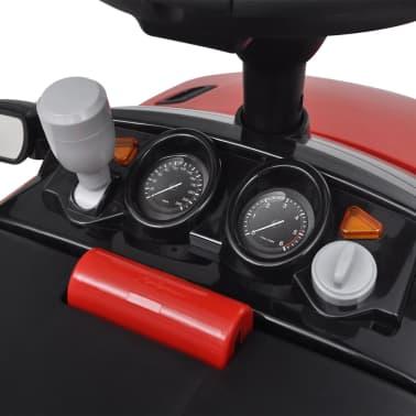 Mașinuță pentru copii muzicală, Land Rover 348, roșu[6/6]