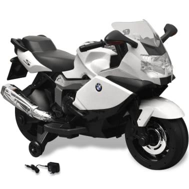 Motocicletă electrică pentru copii BMW 283, 6V, alb[1/11]