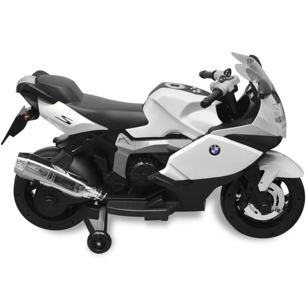 BMW 283 Elektrická motorka pro děti bílá 6 V