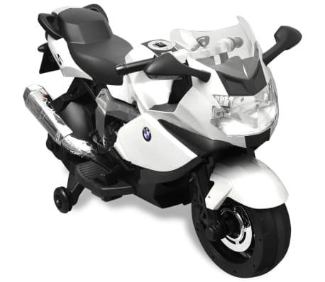 Motocicletă electrică pentru copii BMW 283, 6V, alb[5/11]