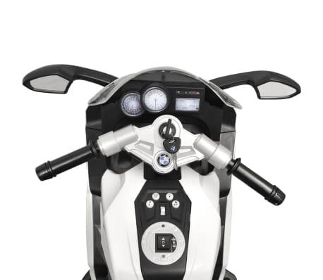 Motocicletă electrică pentru copii BMW 283, 6V, alb[7/11]