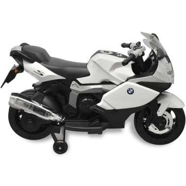 Motocicletă electrică pentru copii BMW 283, 6V, alb[2/11]
