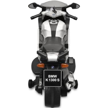Motocicletă electrică pentru copii BMW 283, 6V, alb[4/11]
