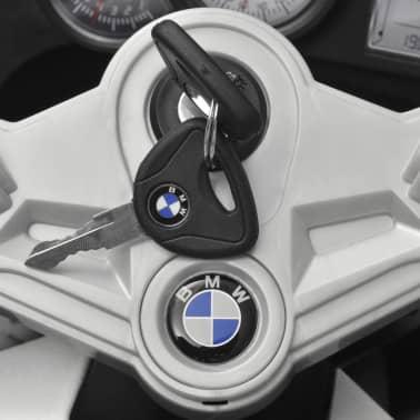 Motocicletă electrică pentru copii BMW 283, 6V, alb[10/11]