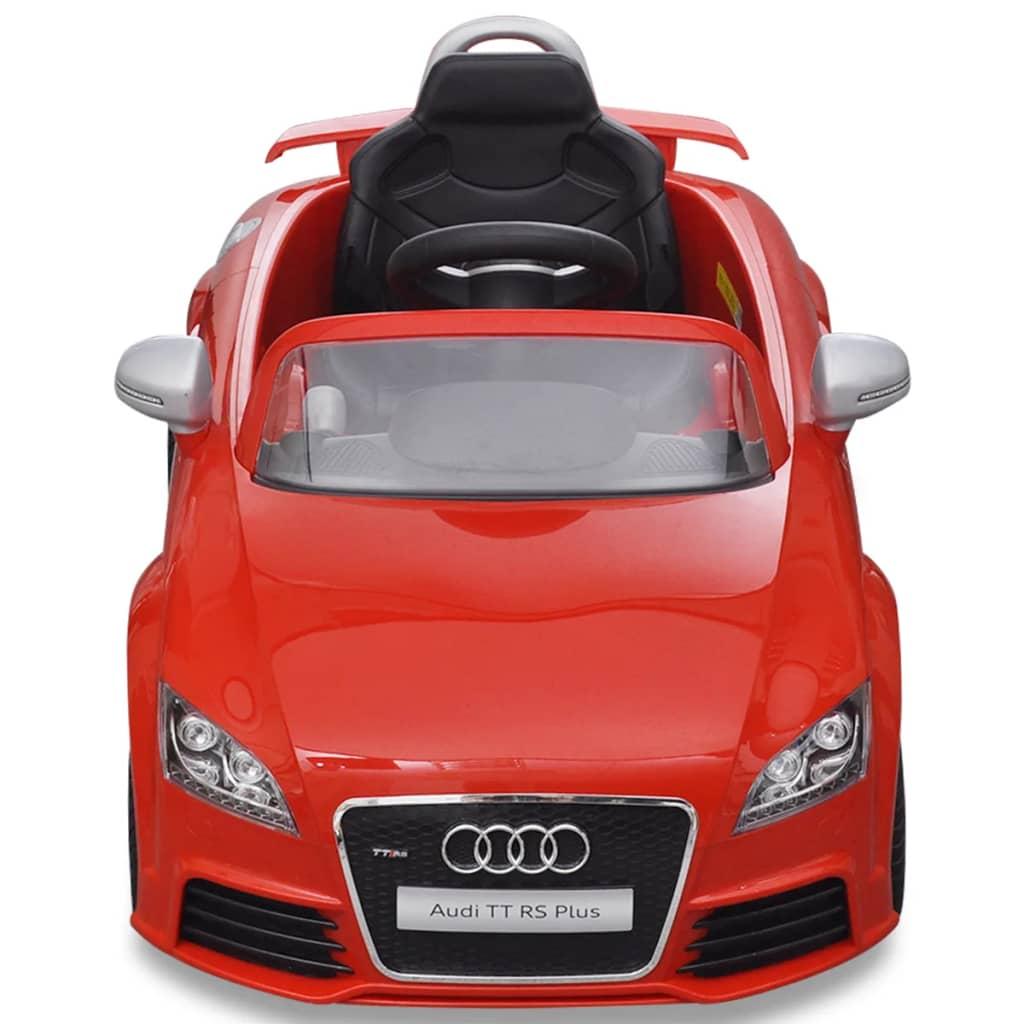 Audi TT RS dětské auto s dálkovým ovládáním červené
