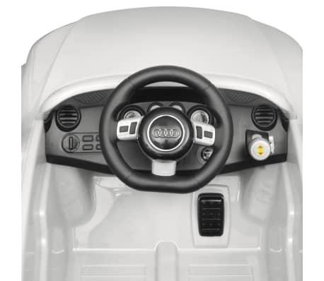 Elbil för barn Audi TT RS med fjärrstyrning vit[5/6]