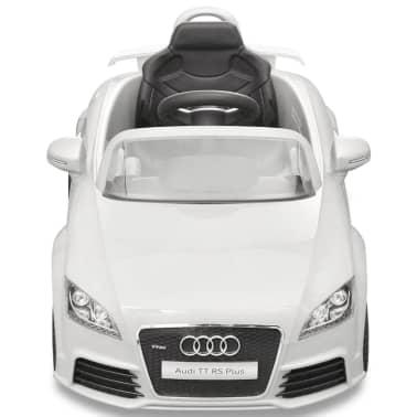 Elbil för barn Audi TT RS med fjärrstyrning vit[2/6]