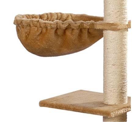 "Cat Tree 41"" Beige Plush[5/5]"