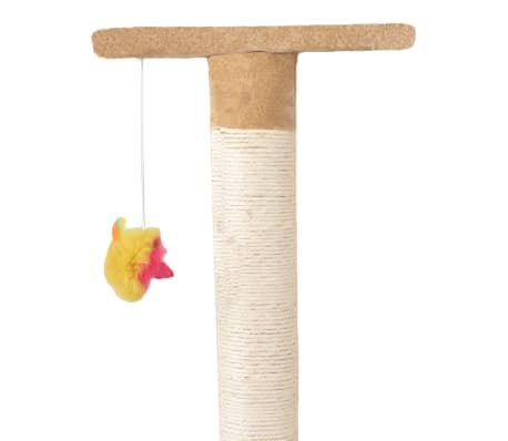 "Cat Tree 75"" Beige Plush[5/6]"
