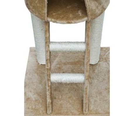 "Cat Tree Deluxe 90"" - 102"" Beige Plush[3/6]"