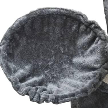 "Cat Tree 48"" Gray Plush[5/5]"