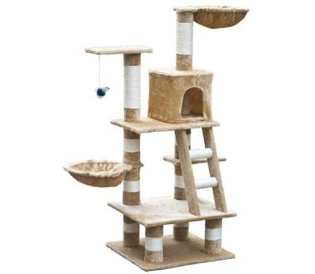 "Cat Tree 48"" Beige Plush[1/5]"