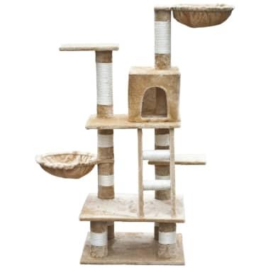 "Cat Tree 48"" Beige Plush[2/5]"