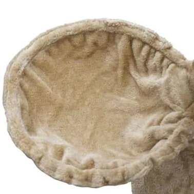 "Cat Tree 48"" Beige Plush[5/5]"