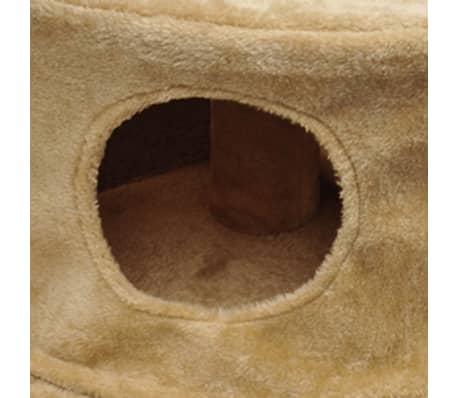 "Cat Tree 28"" Beige Plush[3/3]"