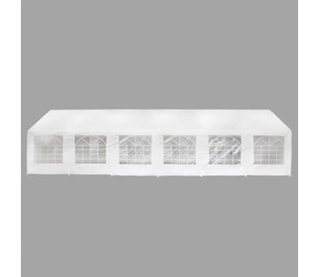 vidaXL White Party Tent 40' x 20'[3/8]