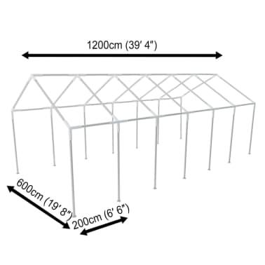 vidaXL White Party Tent 40