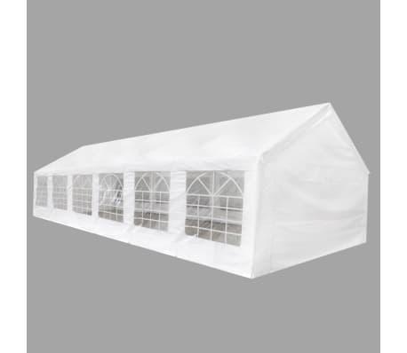 vidaXL White Party Tent 40' x 20'[1/8]