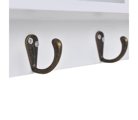vidaXL Wandschrank für Schlüssel und Schmuck mit Türen und Haken[5/8]
