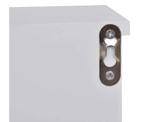 vidaxl wandschrank f r schl ssel und schmuck mit t ren und haken g nstig kaufen. Black Bedroom Furniture Sets. Home Design Ideas