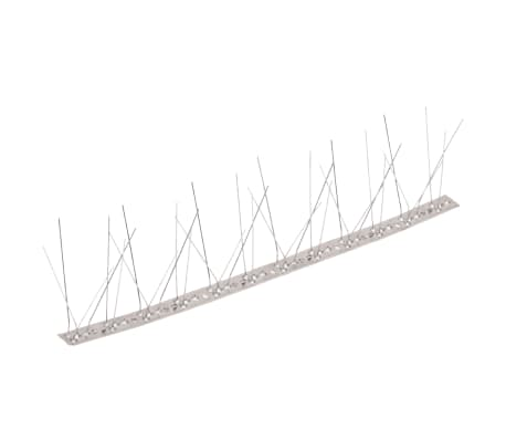 5-row Stainless Steel Bird & Pigeon Spikes Set of 6[2/4]