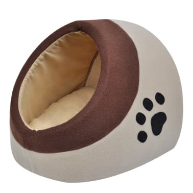 vidaXL Warm Fleece Cat Cubby M[1/2]