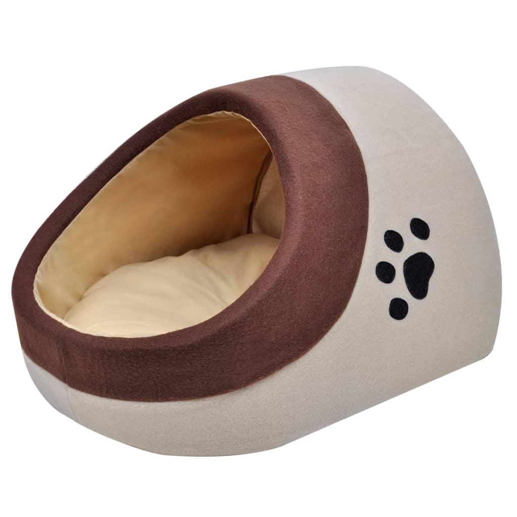 Teplý fleeceový kočičí pelíšek vel. XL