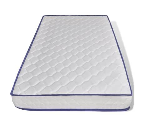 vidaxl bett mit matratze 90 200 cm massives kiefernholz. Black Bedroom Furniture Sets. Home Design Ideas