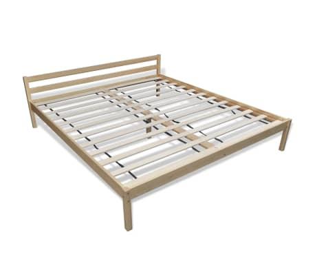 lit en pin 180 cm surmatelas m moire de forme matelas. Black Bedroom Furniture Sets. Home Design Ideas