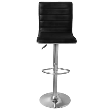 Set of 2 Black Bar Stool Tabby[3/4]