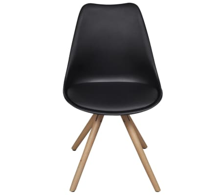 6 esszimmerst hle kunstleder schwarz g nstig kaufen. Black Bedroom Furniture Sets. Home Design Ideas