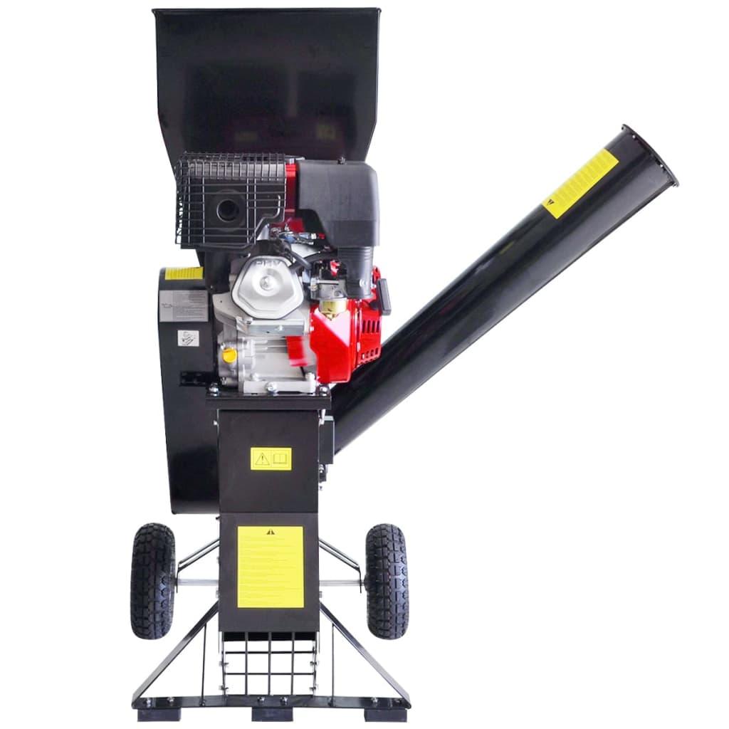 vidaXL Houtversnipperaar op benzine met 15 PK motor