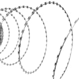 BTO-22 Concertina NATO Razor Wire Galvanized Steel 492'