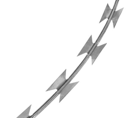 BTO-22 Concertina NATO Razor Wire Galvanized Steel 492'[3/4]
