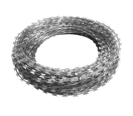 BTO-22 Clipped Concertina NATO Razor Wire Galvanized Steel 328'[2/5]