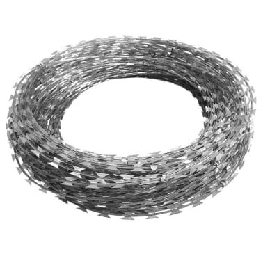 BTO-22 Clipped Concertina NATO Razor Wire Galvanized Steel 492