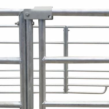 4 dalių gardas avims, cinkuotas plienas, 137 x 137 x 92 cm[4/4]