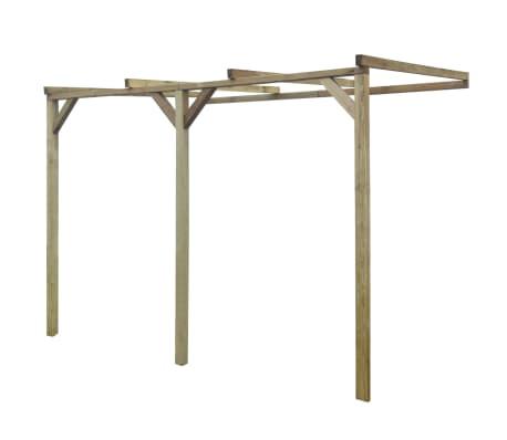 vidaXL Pergola 2x3x2,2 m hout