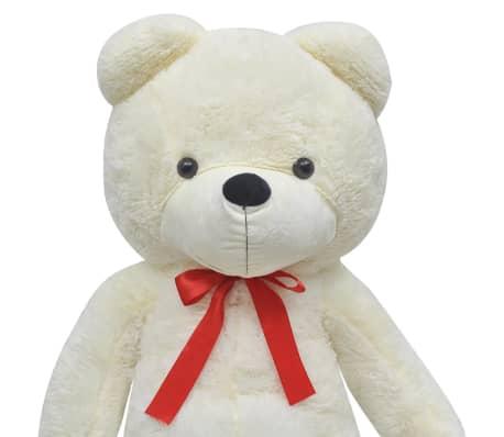 XXL Plišasta igrača medvedek bele barve 150 cm[3/5]