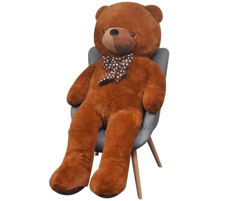 XXL Soft Plush Teddy Bear Toy Brown 175 cm[2/5]
